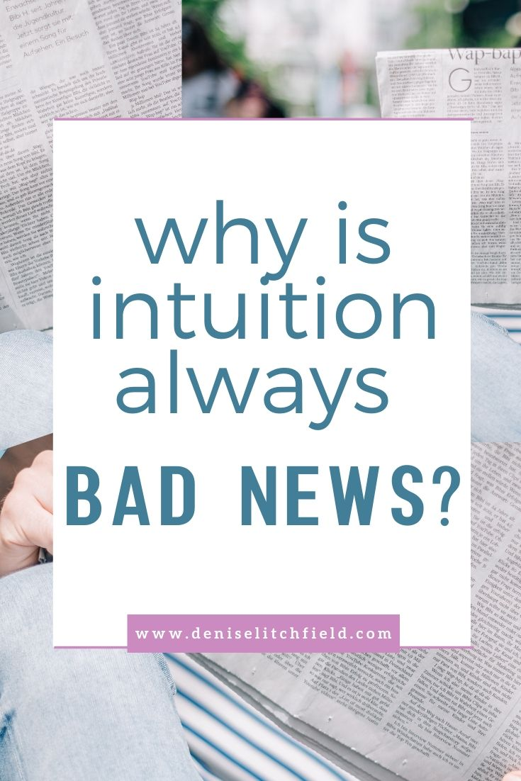 why is intuition always bad news