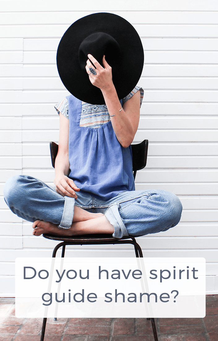 Do you have spirit guide shame? Pinterest